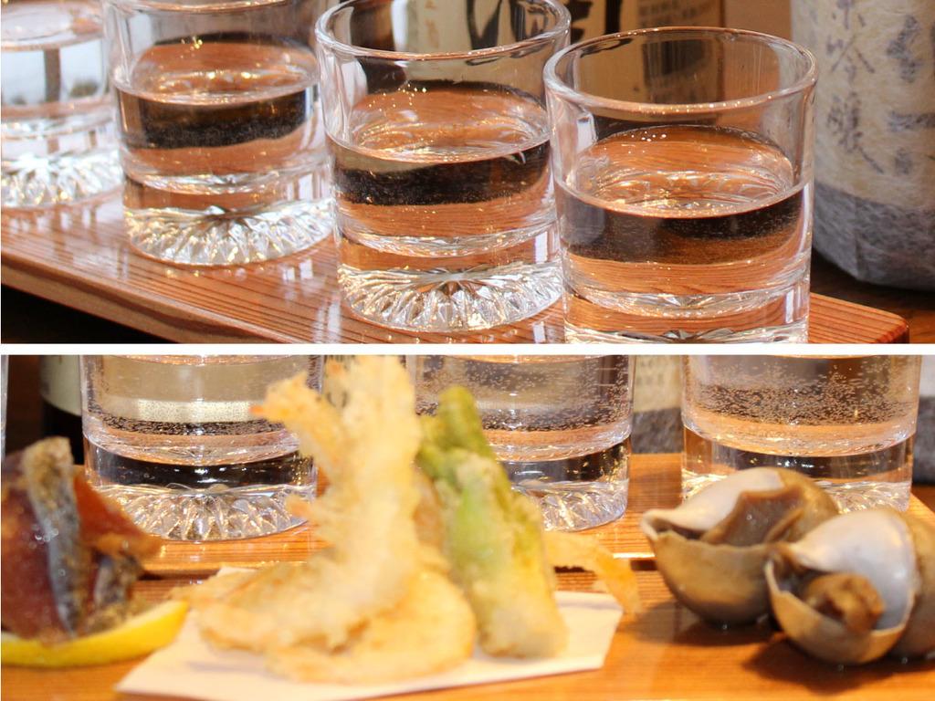 雪国の地酒を、地の肴とご一緒に味わいお楽しみください