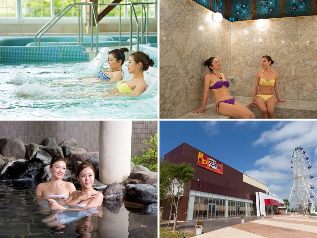 ゆっくり3泊4日/温泉ジェットマッサージプールでの運動と休息の組合せで心身を健康に。フリータイムには五箇山観光などをお楽