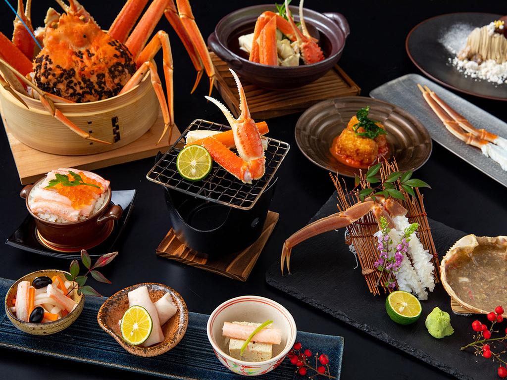 ズワイ蟹を焼き・刺し・鍋・浜茹でお楽しみください