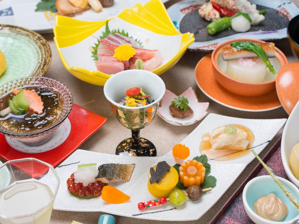 竹林会席料理(14品〜15品)