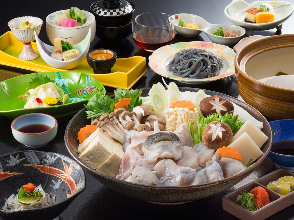 栃木県産・温泉とらふぐ鍋