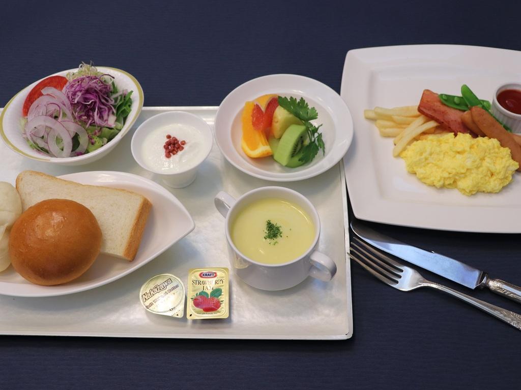 ご朝食:洋定食イメージ