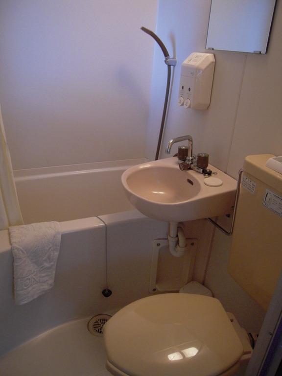 全室バス・トイレ・洗面付