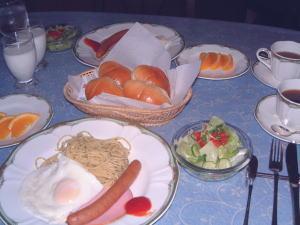 朝食例 パン食