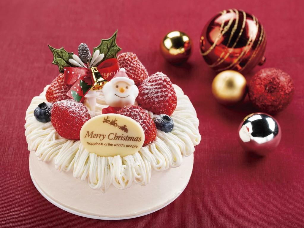 クリスマスケーキ ストロベリーチーズケーキ(イメージ)