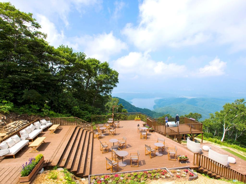 標高1100mからの景色をお楽しみください☆ *4/28〜営業