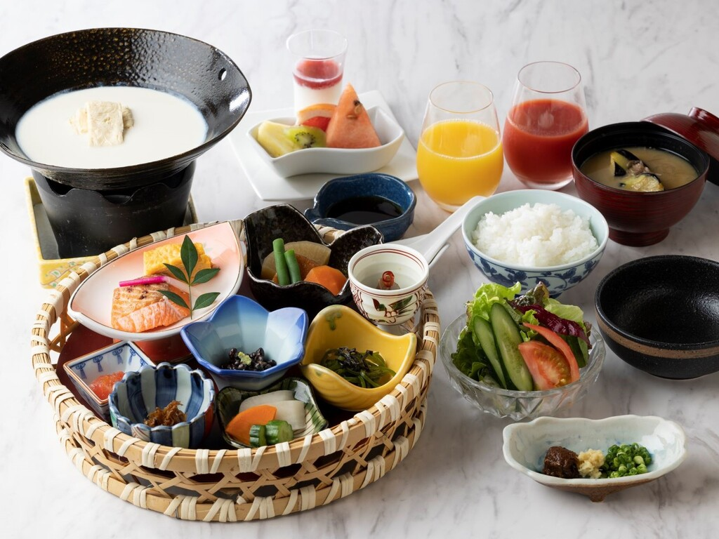 朝食:和食メニュー一例