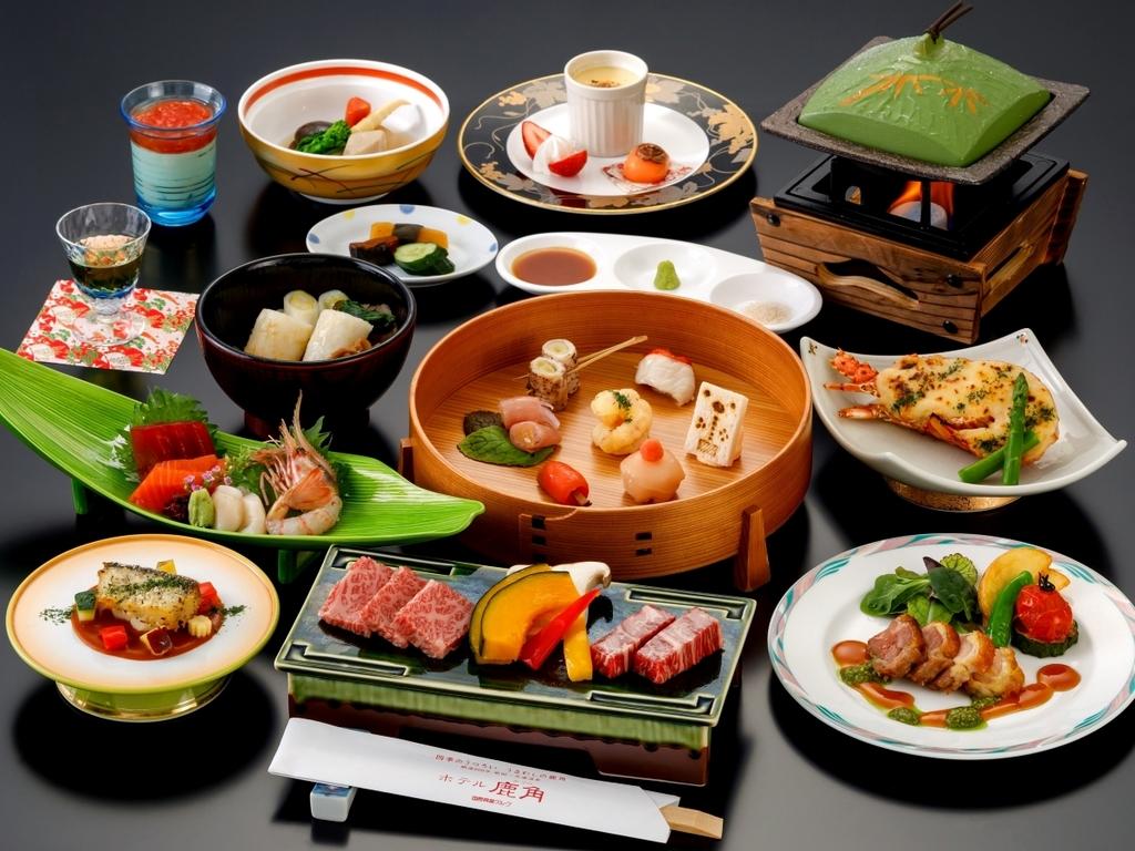 2020/4/11〜『かづの恋姫コース』お料理一例※季節により献立は変更となります