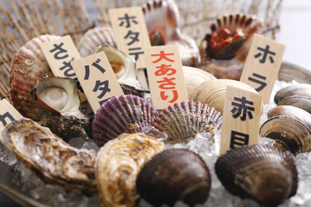 ねぼーや名物 活き貝のプリフィックス