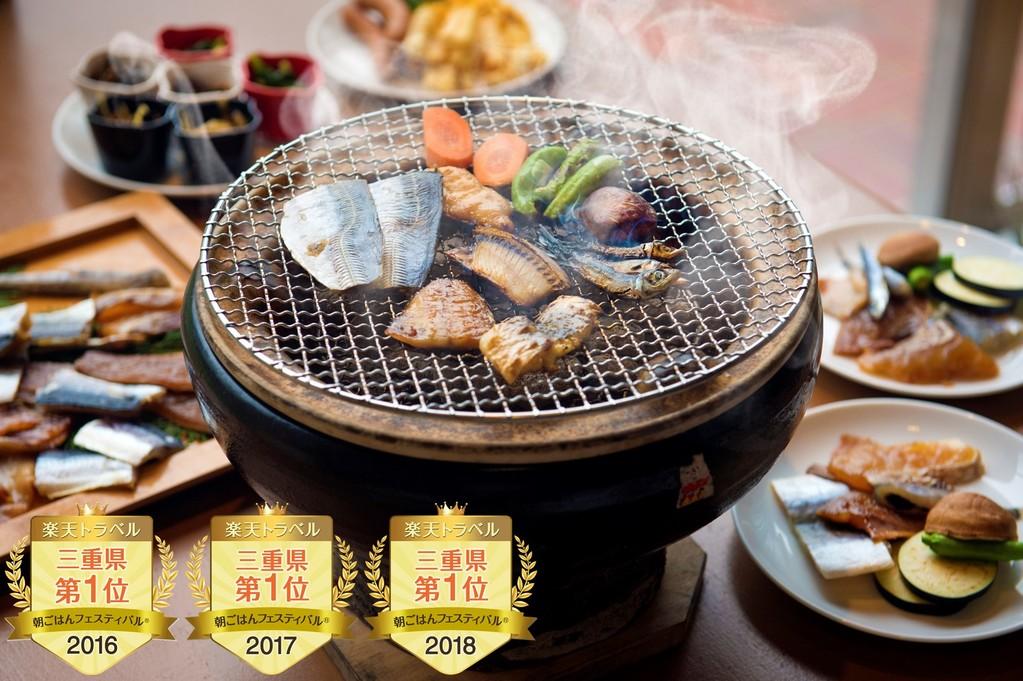 楽天トラベル朝ごはんフェスティバル 3年連続第1位