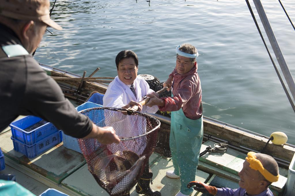中西総料理長が特別仕入の深海魚 ※イメージ