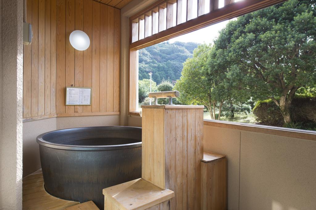 客室露天風呂 ※一例