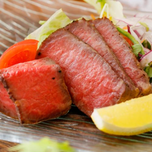 長崎県産牛ローストビーフサラダ仕立