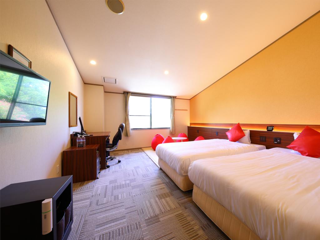 コンパクト&リーズナブルなお部屋◆和洋室<山側>