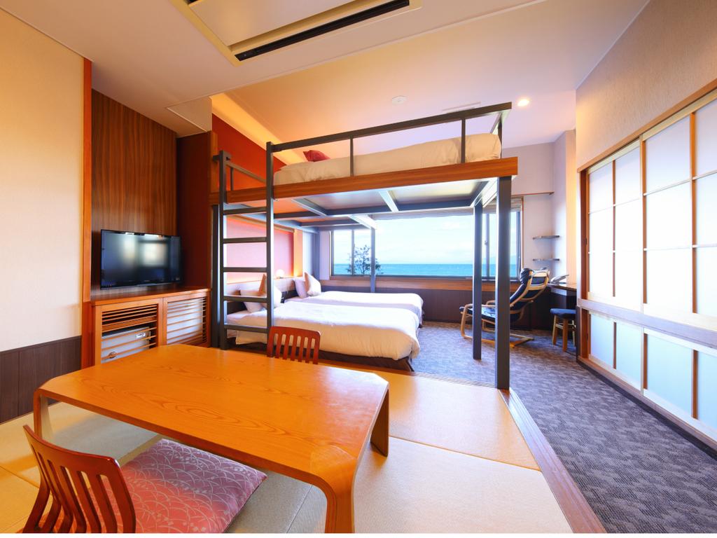 2段ベッド付和洋室