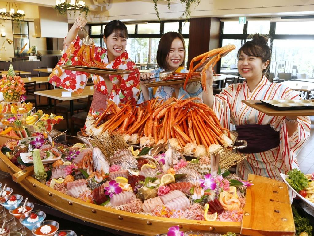 【夏ビアバイキング】蟹食べ放題!