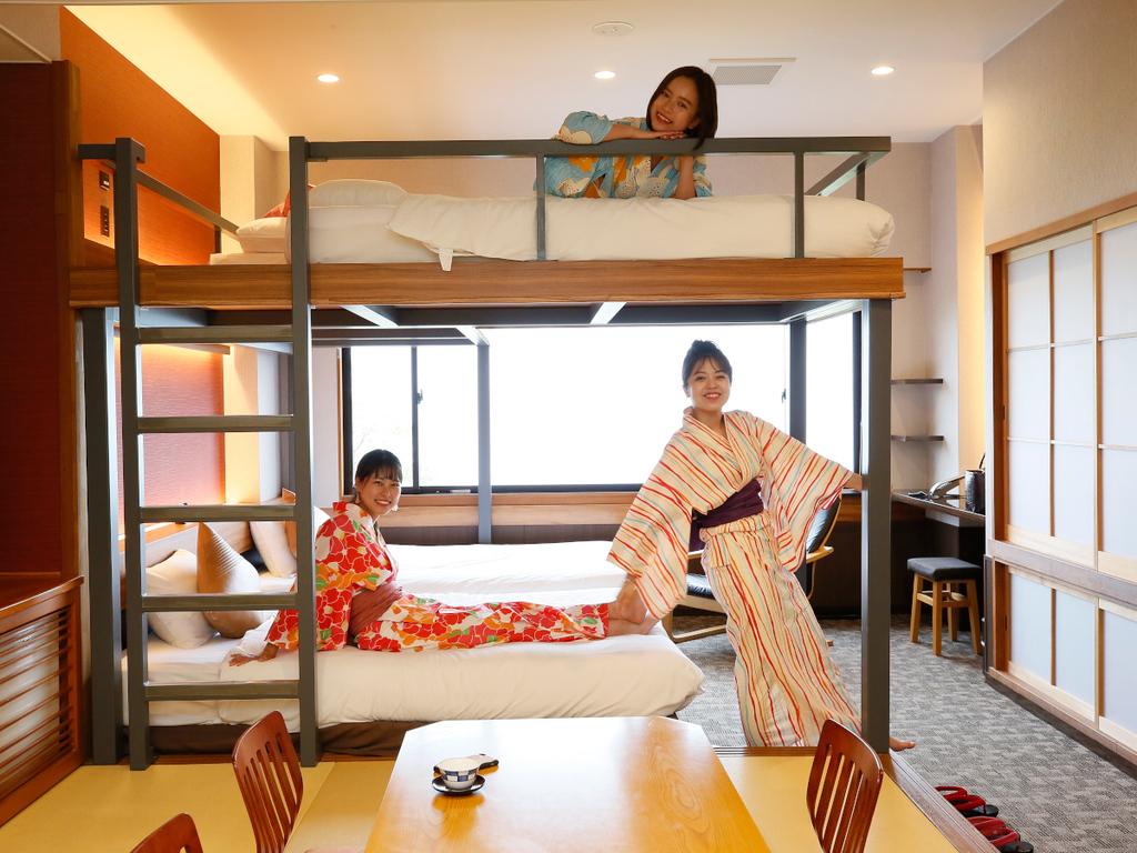 【2段ベッド付和洋室】