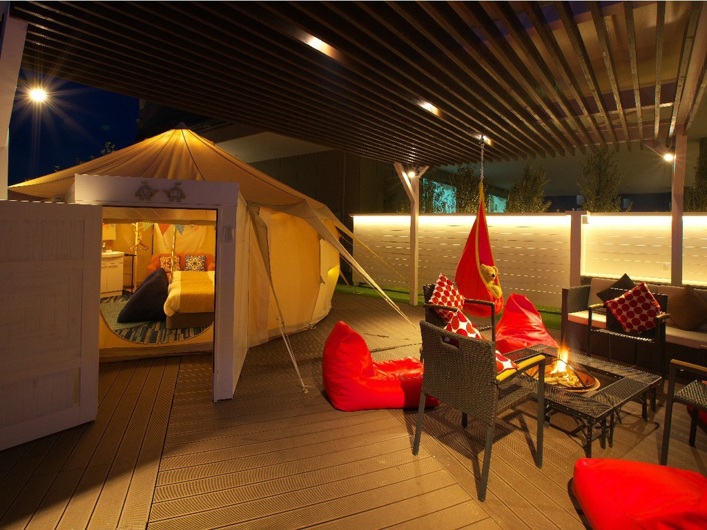【GLAMPING OLIVE TERRACE SHIMABARA】