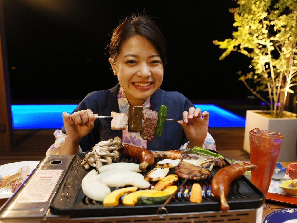 【BBQ】焼いて♪あぶって♪食せ食せ〜!グループにぴったりのワイワイプラン!
