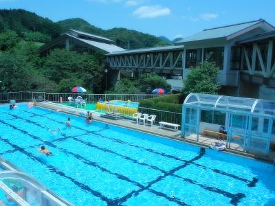 【施設】屋外プール&こどもプール