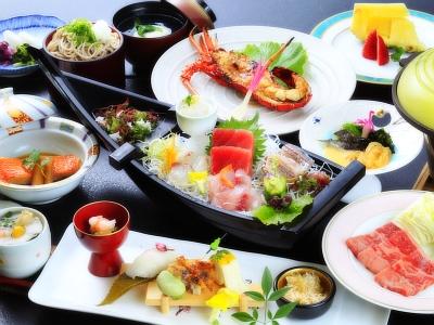 【お食事】ご夕食はjこのプラン限定の和会席膳です。