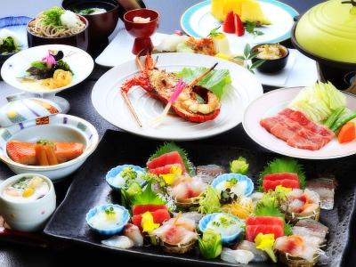 【お食事】ご夕食はこのプラン限定和会席膳です。
