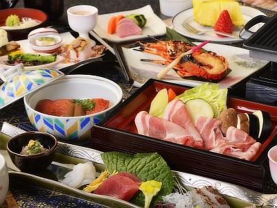 【お食事】ご夕食はこのプラン限定の和会席膳です。