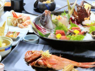 【お食事】当館最上級和会席膳「旬彩」イメージ