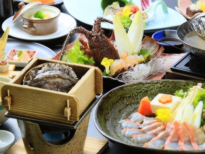 海の幸三大味覚を満喫する特撰料理プラン