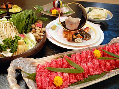 Kobe beef sukiyaki
