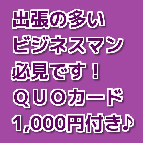 QUOカード1,000円付き♪