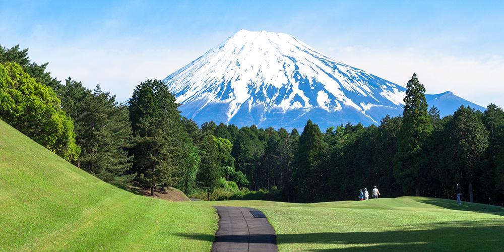 1番テーグラントから望む富士山