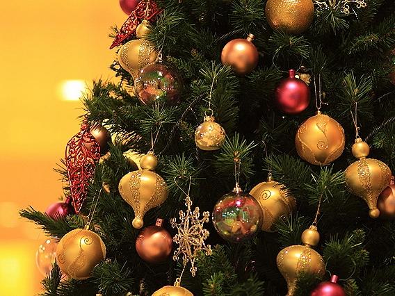期間内、ホテル館内はクリスマス一色に!