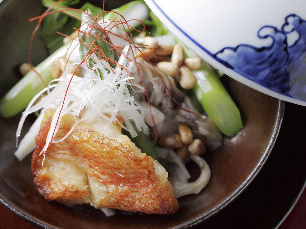 季節のお膳「秋のTOKACHI満喫」キンキの煮付け※イメージ