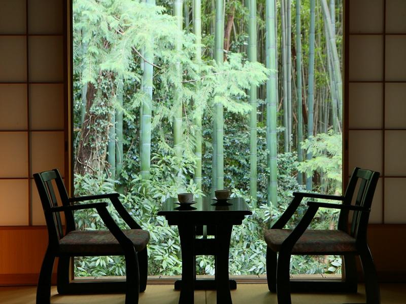 プライベートの空間で静けさを愉しむ