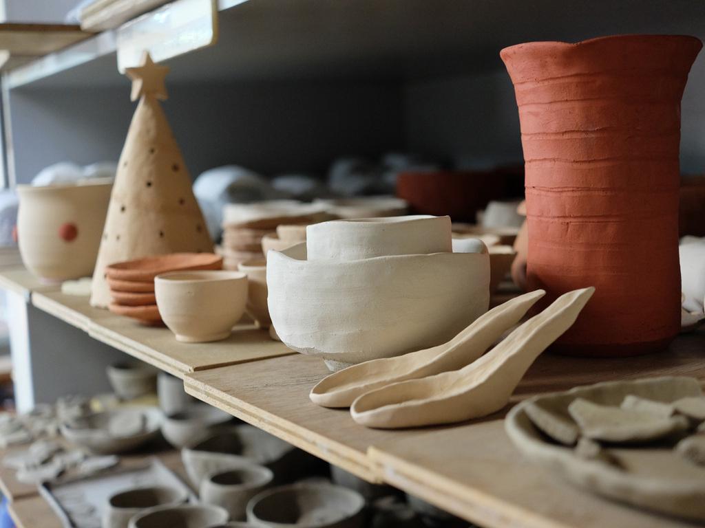 館内の陶芸体験もおすすめ