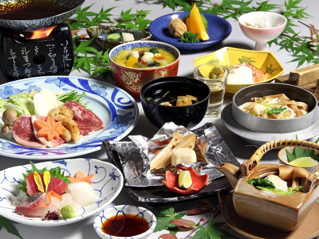 10月〜11月限定<秋の味覚>松茸会席
