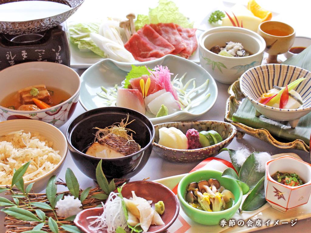 <季節の会席イメージ>四季折々のお料理をお楽しみください。