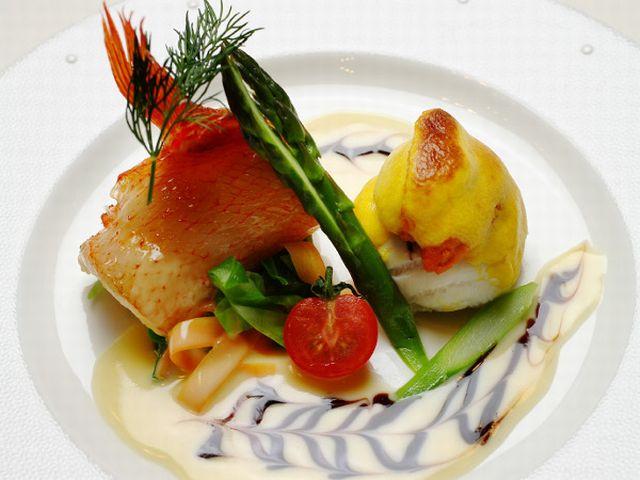 十勝の厳選食材を使用したフレンチベースの『洋食コース』