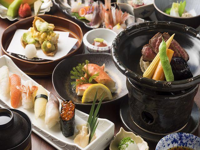 フォレストスパツイン/和食コースの一例