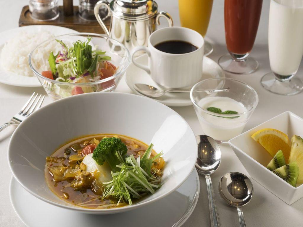 朝食メニュー/スープカレーセット