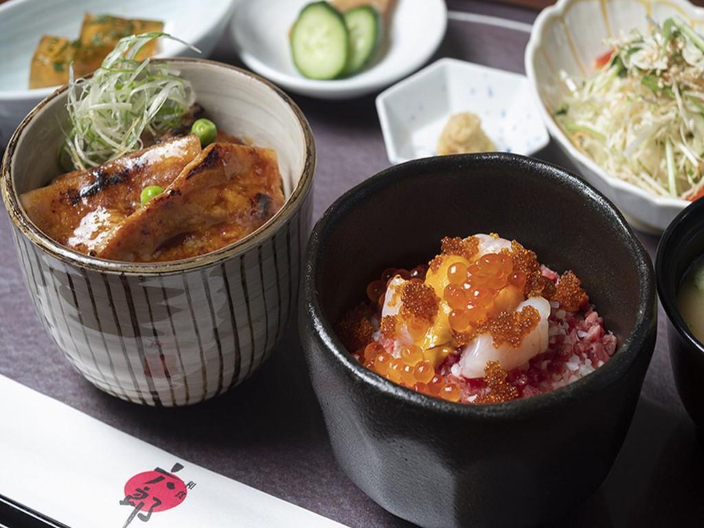 豚丼&牛トロ海鮮丼