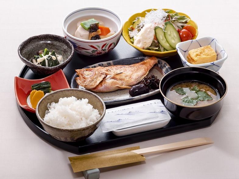 朝食御膳(イメージ)