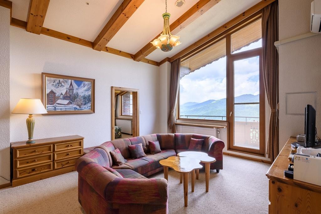 ロイヤルスイートは当ホテルを代表する部屋
