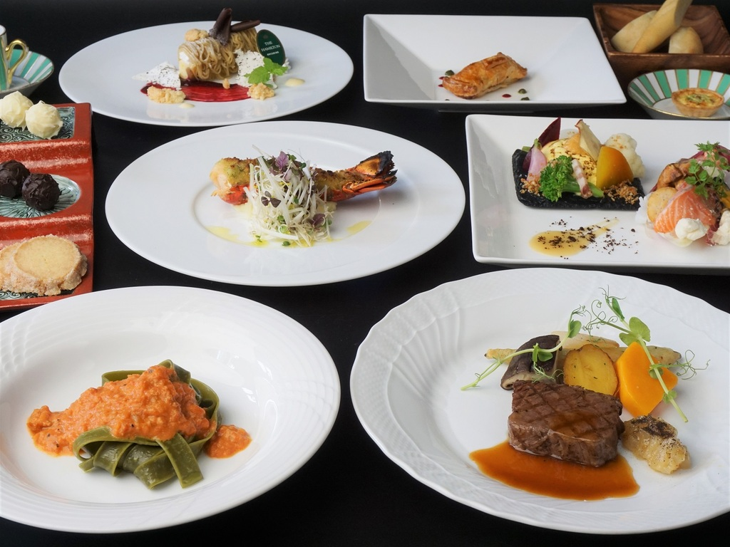 旬の味覚と贅沢食材をたっぷり使ったスペチャーレコース