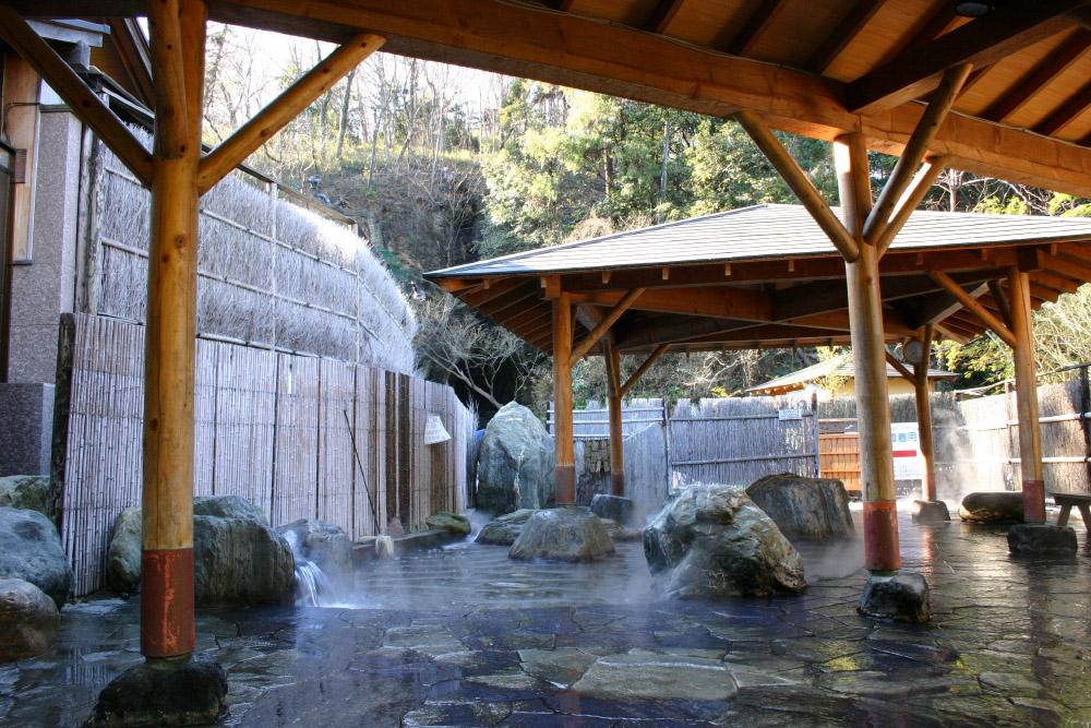 四季(とき)の湯温泉『露天風呂』