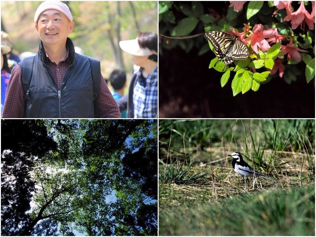 佐々木洋先生と自然観察