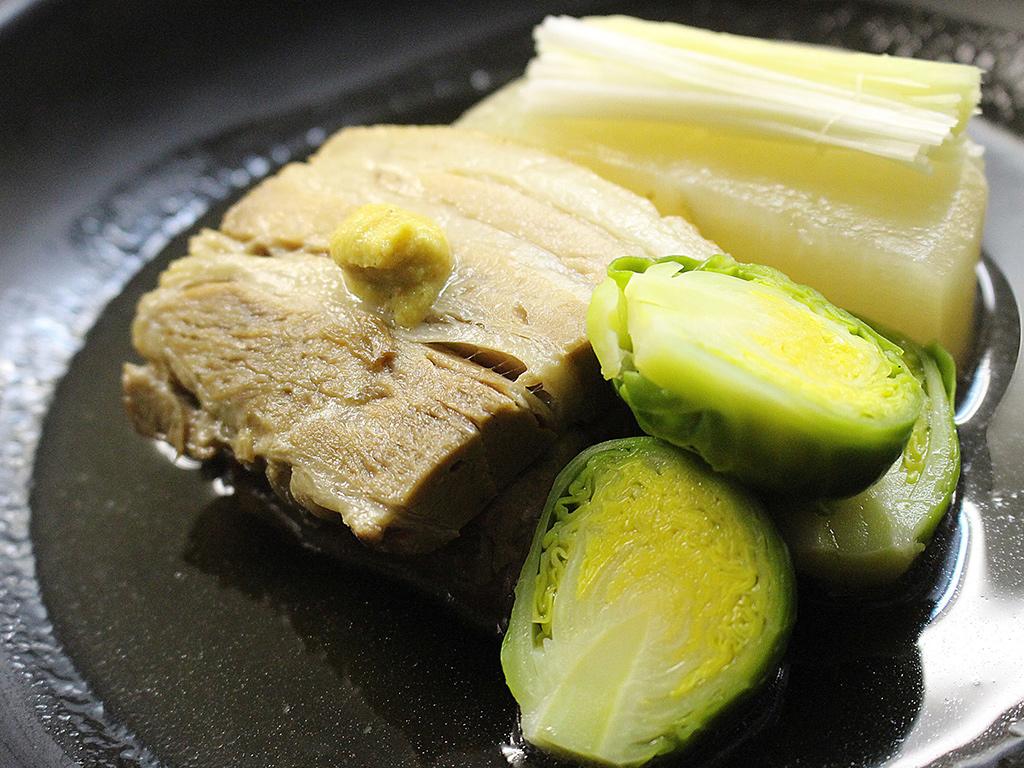 選択メニュー:武州豚のやわらか角煮