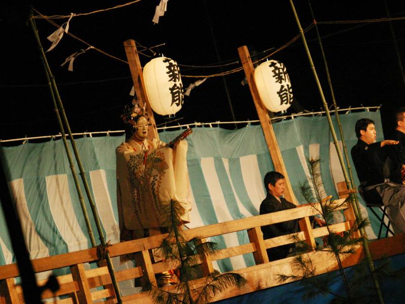 日本の伝統的文化【薪能】