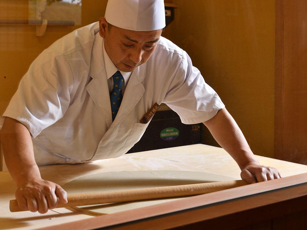 蕎麦職人・小野蕎師